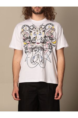 Burberry Montage tshirt in cotton with logo print