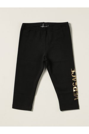 VERSACE Versace Young leggings with laminated logo