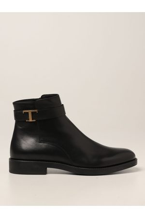 Tod's Flat Ankle Boots Women colour