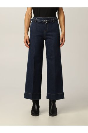 Pinko Peggy jeans with belt and Love Birds buckle