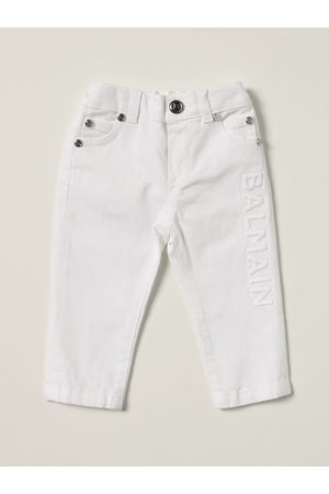 Balmain Skinny jeans with embroidered logo