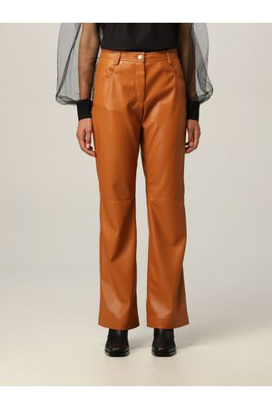Msgm Trousers in synthetic leather
