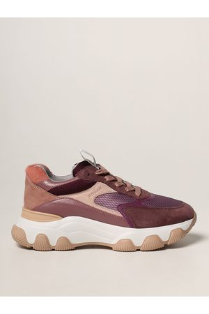 Hogan Hyperactive trainers in suede leather and pony