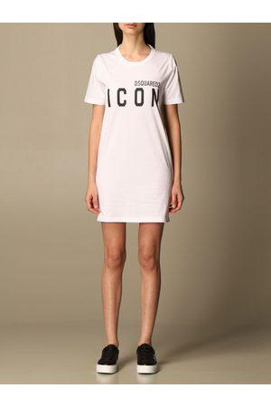 Dsquared2 Women Dresses - Tshirt dress with Icon logo