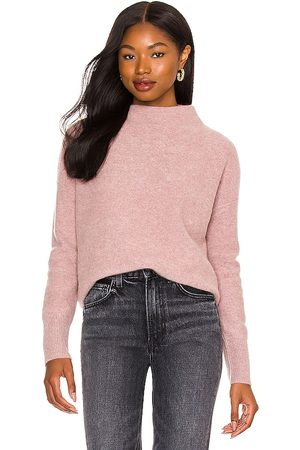 Vince Boiled Funnel Neck Pullover in . Size M, S, XS.