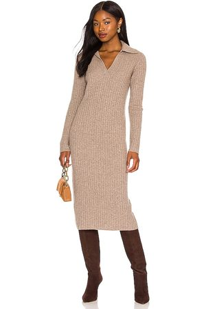 Vince Ribbed Polo Dress in . Size M, S, XS.