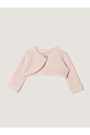 MONNALISA Short cotton shrug