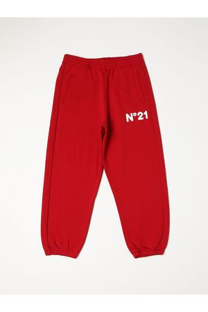 Nº21 N ° 21 jogging trousers with rubberized logo