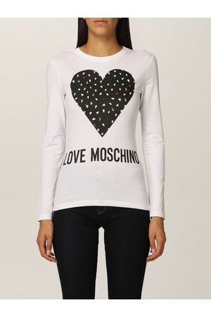 Love Moschino Tshirt in cotton with heart