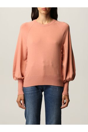 Twin-Set Women Jumpers - Twinset sweater with lace