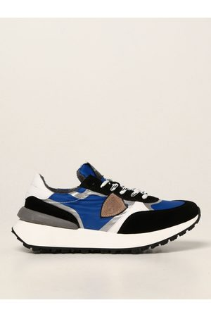 Philippe model Junior trainers in nylon and suede