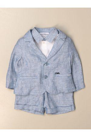 Emporio Armani Polo shirt + dungarees + jacket