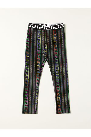 VERSACE Versace Young leggings with Greek