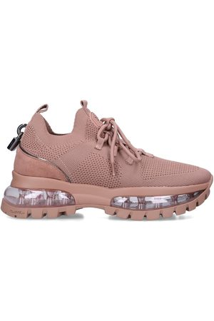 Carvela Lock bubble cleat - blush knitted bubble sole chunky trainers