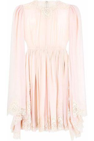 Dolce & Gabbana Women Dresses - Lace-embroidered mini dress