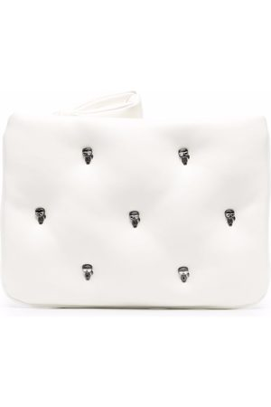 Karl Lagerfeld Women Clutches - Pin-detail Puffy pouch