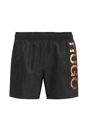 HUGO BOSS Quick-dry logo swim shorts in recycled fabric