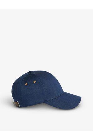 Ted Baker Men Caps - Monei logo-embroidered cotton baseball cap