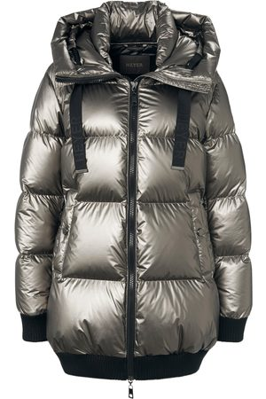 Heyer Women Coats - Down quilted jacket integrated hood size: 10