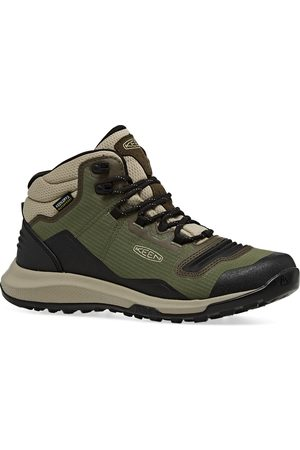 Keen Women Outdoor Shoes - Tempo Flex Mid WP s Walking Boots - Capulet Olive Rosin