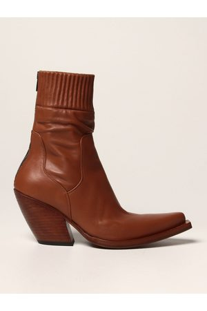 Barracuda Flat Ankle Boots Women colour Leather