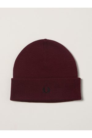 Fred Perry Hat Men colour Burgundy