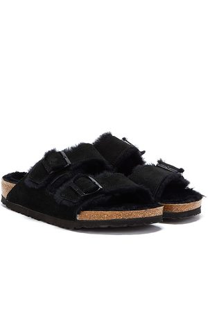 Birkenstock Sandals - Brikenstock Arizona Shearling Unisex Sandals