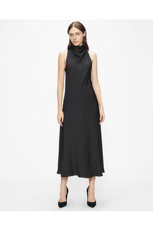 Ted Baker Cowl Neck Sleeveless Midi Dress