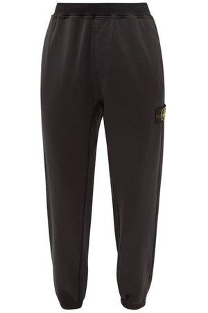 Stone Island Logo-patch Jersey Track Pants - Mens