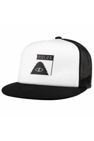 Poler SUMMIT TRUCKER HAT - BLACK
