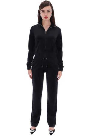 Juicy Couture Women Sports Trousers - Del Ray Classic Velour Bottoms