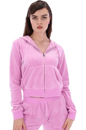 Juicy Couture Robertson Classic Velour Hoodie - Orchid