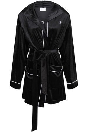 Juicy Couture Riley Velvet Robe with Hood