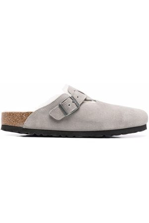 Birkenstock Women Sandals - WOMEN'S 1017651STONE LEATHER SANDALS