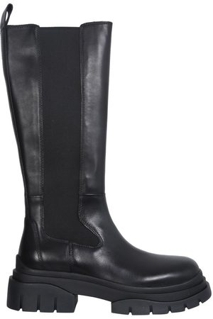 Ash Women Boots - WOMEN'S STONE01MUSTANGBLACK OTHER MATERIALS BOOTS