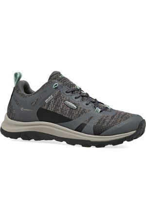 Keen Women Outdoor Shoes - Terradora II WP s Walking Shoes - Steel Ocean Wave