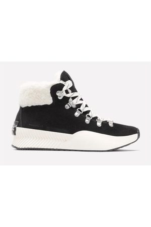 sorel Women Boots - Out N About lll Conquest Black & White Boots