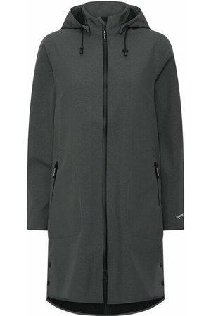 Ilse Jacobsen Soft Shell Raincoat - Mid Length with Detachable Hood - Urban