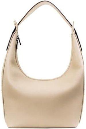 Tissa Fontaneda Women Purses & Wallets - Berlin Calfskin Bag - Stone Nocciola