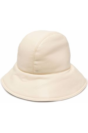 Nanushka Cameron padded bucket hat - Neutrals