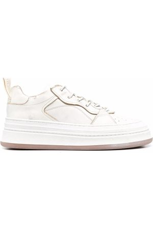 Buttero Circolo low-top leather sneakers