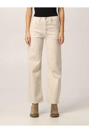 Cycle Trousers Women colour Cream