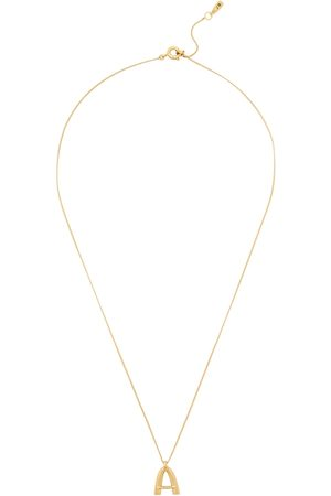 Jenny Women Necklaces - A Initial 14kt -dipped Necklace