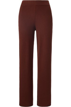 Peter Hahn Trousers elasticated waistband and wide leg size: 14