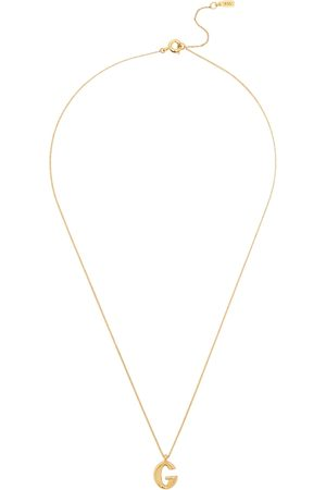 Jenny Women Necklaces - G Initial 14kt -dipped Necklace