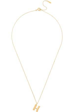Jenny Women Necklaces - H Initial 14kt -dipped Necklace