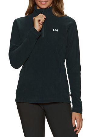 Helly Hansen Women Fleece Jackets - Daybreaker Half Zip s Fleece - Navy
