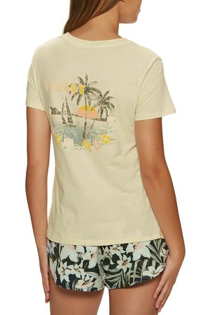 Hurley Dream Boat Classic Crew s Short Sleeve T-Shirt - Seed Pearl