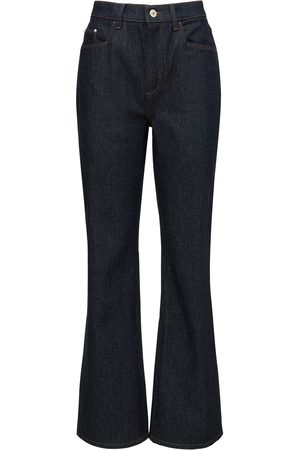 Wandler Daisy Mid Rise Wide Cotton Jeans