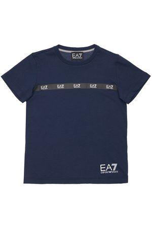 EA7 Cotton Jersey T-shirt